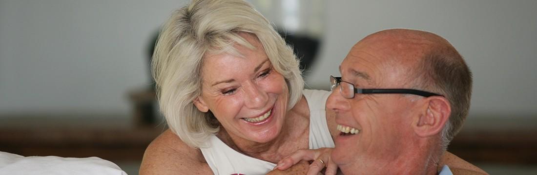 Couple senior appareillé